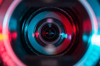 Video Camera Coloured Lens