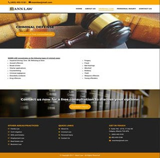 Criminal Law Web Page