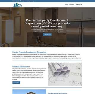 Premier Corp Web Design