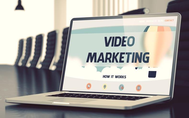 Calgary Video Marketing on Laptop