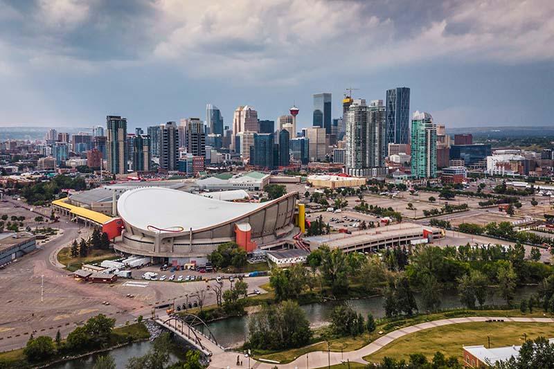 Calgary Alberta en Hiver
