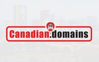 Red Canadian Domains Logo