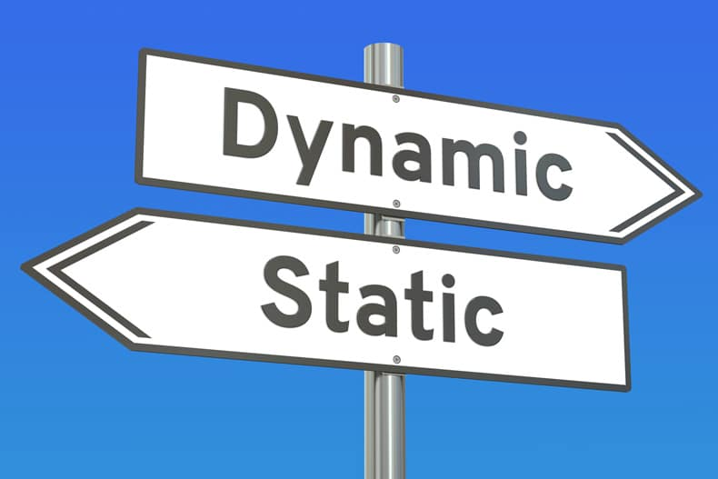 Dynamic or Static Website