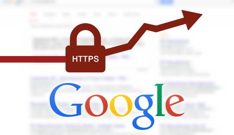 Google SSL Helps Ranking