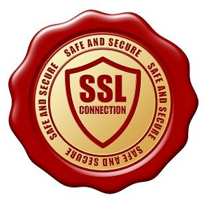 Red SSL Secure Stamp