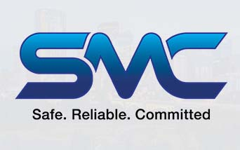 SMC Safe, Reliable, Committed Logo
