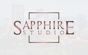 Sapphire Studio Rose Gold Logo
