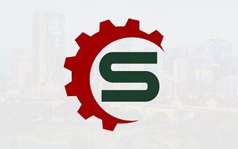 Serps Calgary Red Logo