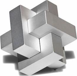 Silver 3D Logo Designing