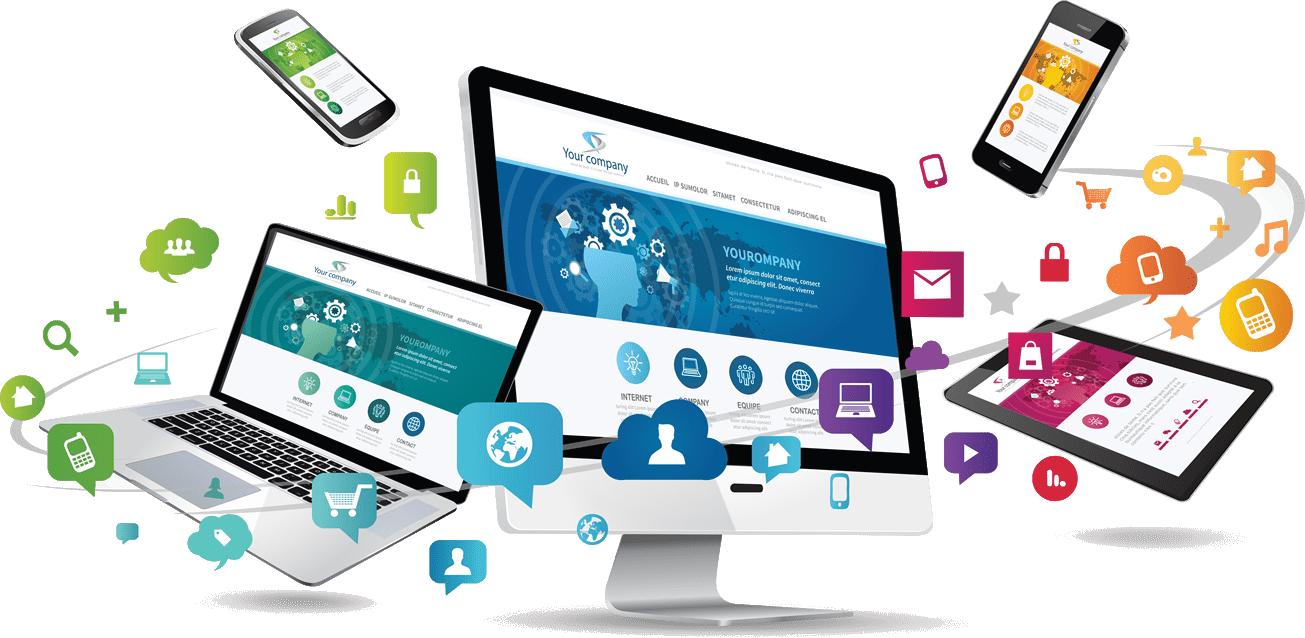 Web Design Business Concept